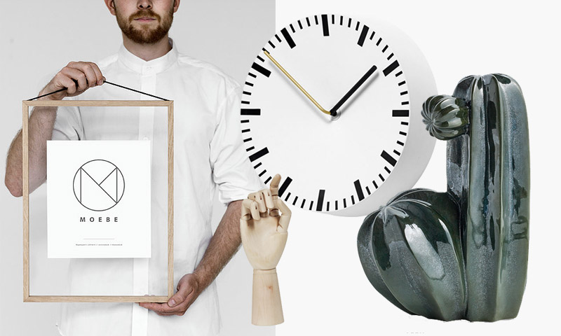 Pienesineet kellot kehykset puukäsi keramiikka Design Boulevard