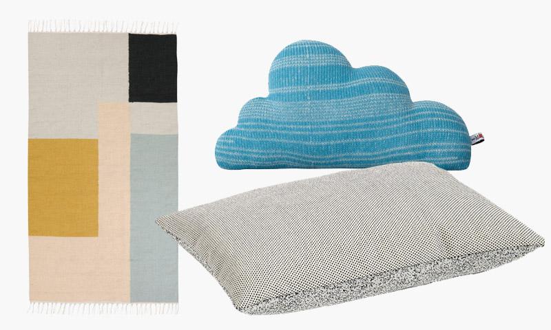 Tekstiilit tyynyt matot ferm living Design Boulevard