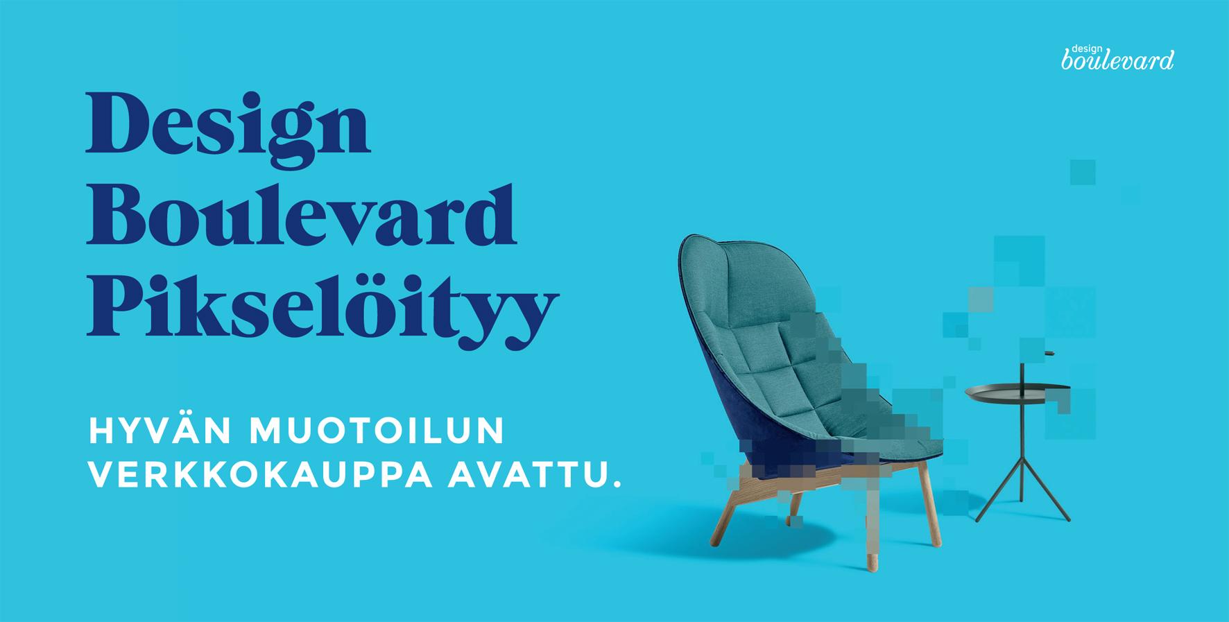 Hyvän muotoilun verkkokauppa Design Boulevard www.designboulevard.fi