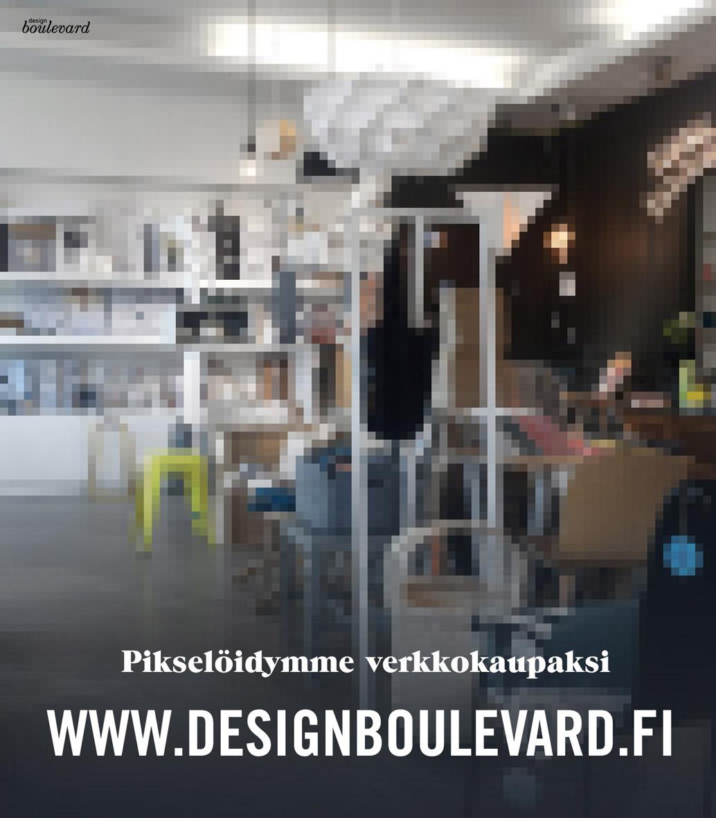 Design Boulevard pikselöityy verkkokaupaksi www.designboulevard.fi