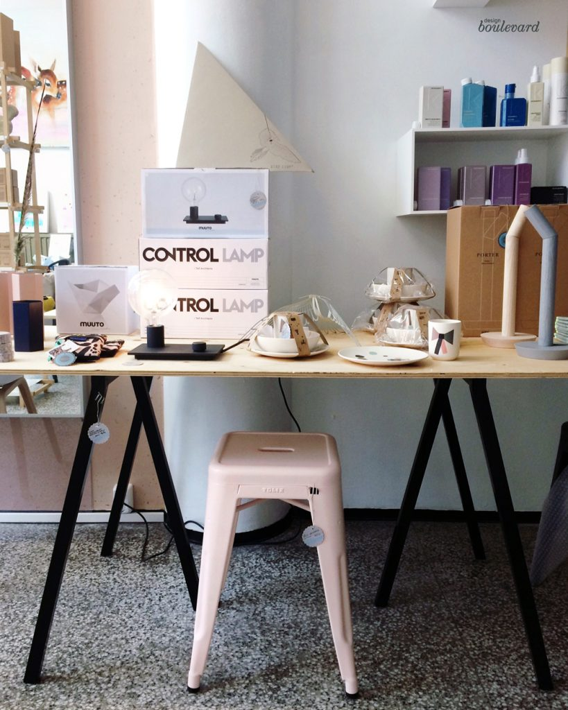 Design Boulevard Pop up kauppa Tolix, Muuto, Hay, Ferm Living