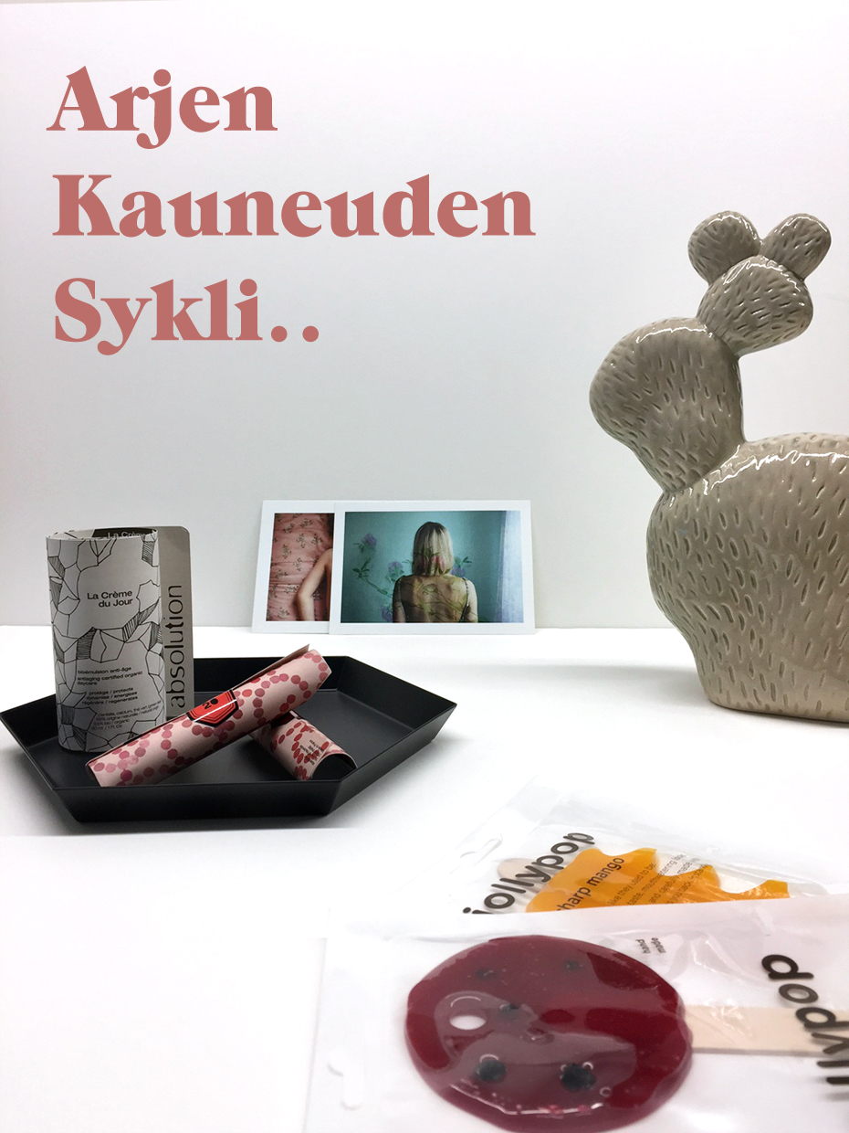 Pop up kappa Arjen Kauneuden Sykli -pop up
