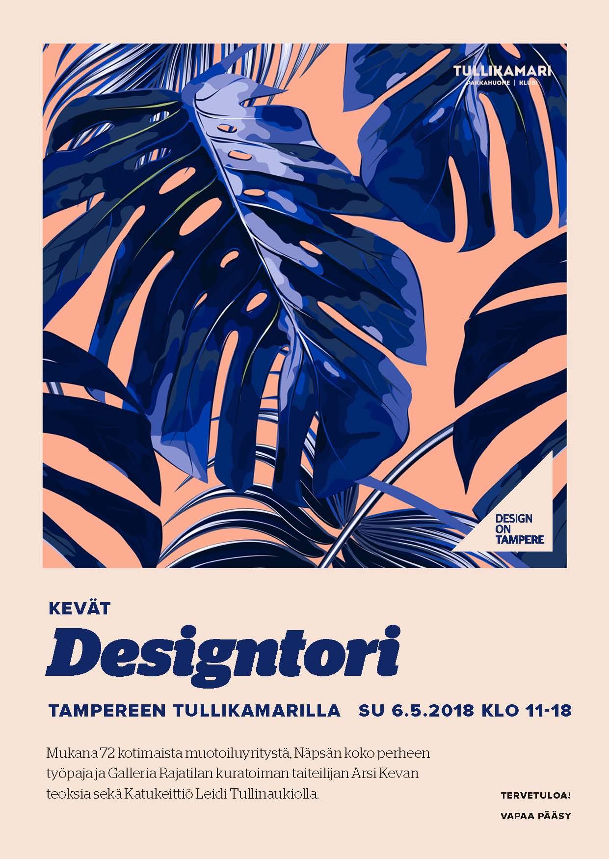 Designtori kevät Tampere 2018